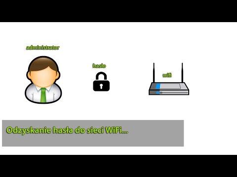 Jak odzyskać hasła do sieci WiFi