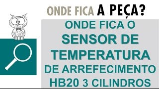 Sensor de Temperatura do HB20 3 Cilindros