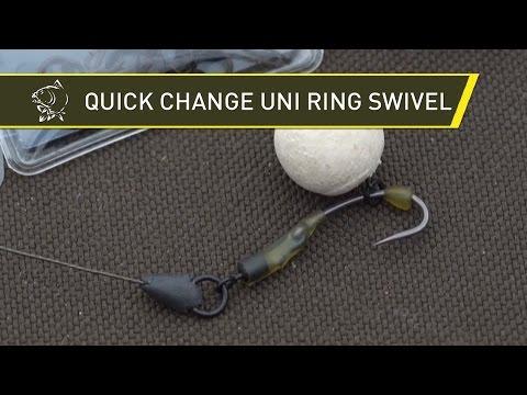 Puść film Quick Change Uni Ring Swivel