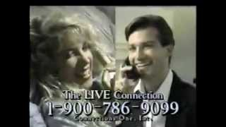 Live Connection Hotline Ad from 1990