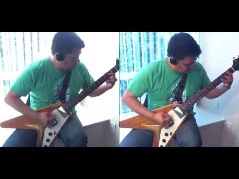 Dance in the Rain all guitars cover - Megadeth
