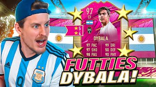 THIS CARD IS INSANE! 97 FUTTIES DYBALA REVIEW! FIFA 21 Ultimate Team