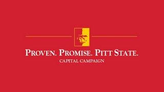 'Proven. Promise. Pitt State. - Dr. Steven A. Scott