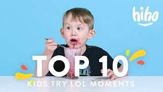 Top 10 Funniest Kids Try Moments! 😂😂😂 | Kids Try | HiHo Kids