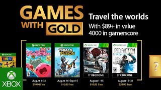 Xbox - August 2017 Games with Gold -