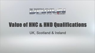Value of HNC & HND Qualifications in UK, Scotland & Ireland