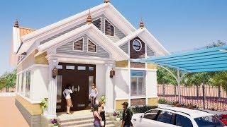 Mẫu Nhà Cấp 4 Đẹp 120m2 Giá 600 Triệu Tại Thuận Châu Sơn La