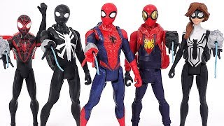 Marvel Spider-Man Prototype, Black, Arachnid, Girl backpack suit! Defeat the villains! #DuDuPopTOY