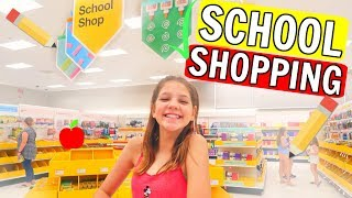 Back to School Shopping and Haul: Target vs Walmart 2018