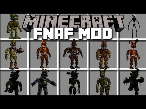 minecraft five nights at freddy s mod kill scary monsters and