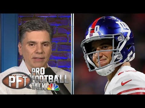PFT Draft: Best moments from Eli Manning's career | Pro Football Talk | NBC Sports