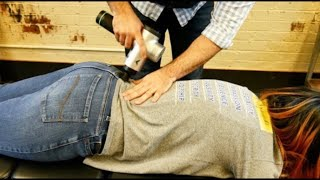 *EXTREMELY LOUD* Chiropractic CRACKING takes 14 YEARS of Pain Away