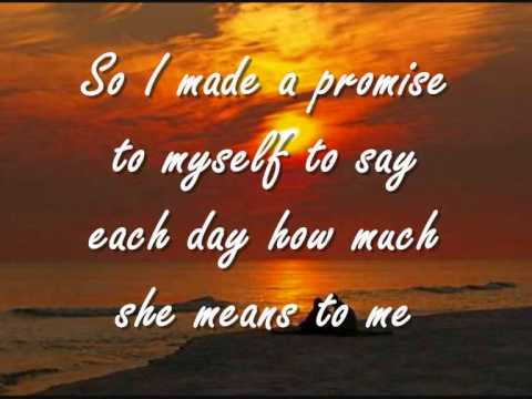 If Tomorrow Never Comes - Ronan Keating / Lyrics