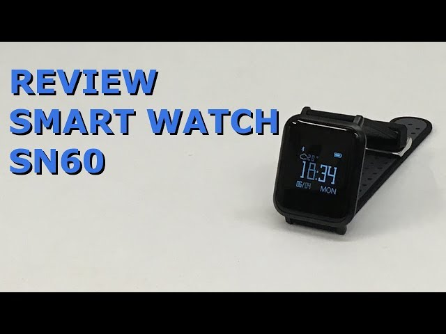 RELÓGIO INTELIGENTE (SMART WATCH) SN60 REVIEW