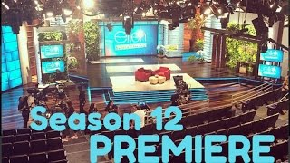 Ellen Season 12 Premiere