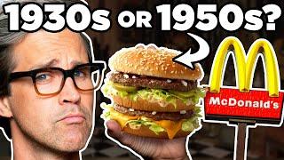100 Years Of Fast Food Taste Test