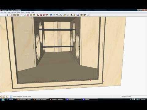 ram designs monster bandpass box design 6x 18