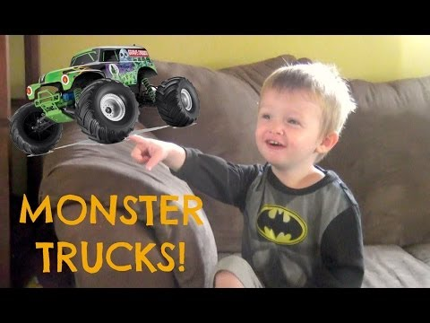 MONSTER TRUCKS! - GabeandJesss  - JgT9DxUL-vc -