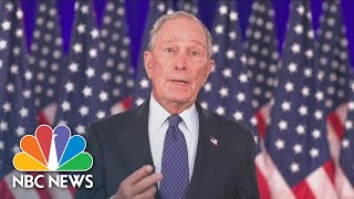 Watch Michael Bloomberg's Full Speech At The 2020 DNC | NBC News