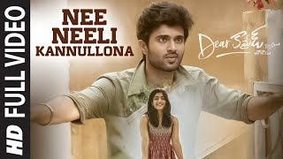 Nee Neeli Kannullona Full Video: Dear Comrade Movie: Vijay..