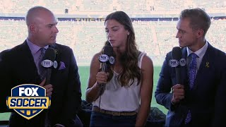 Alex Morgan talks about USWNT and their road to France | FOX SOCCER