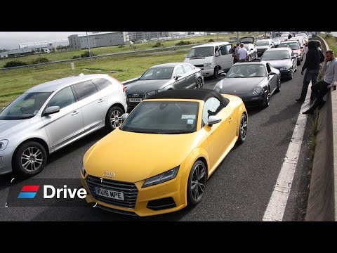 24hrs in an Audi TT S Roadster: What's the fastest route to Le Mans?