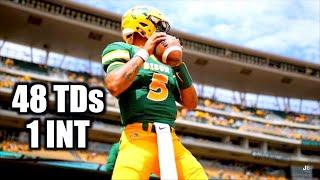 Highest CEILING QB in the Draft  🔥🔥🔥 || NDSU QB Trey Lance Highlights ᴴᴰ