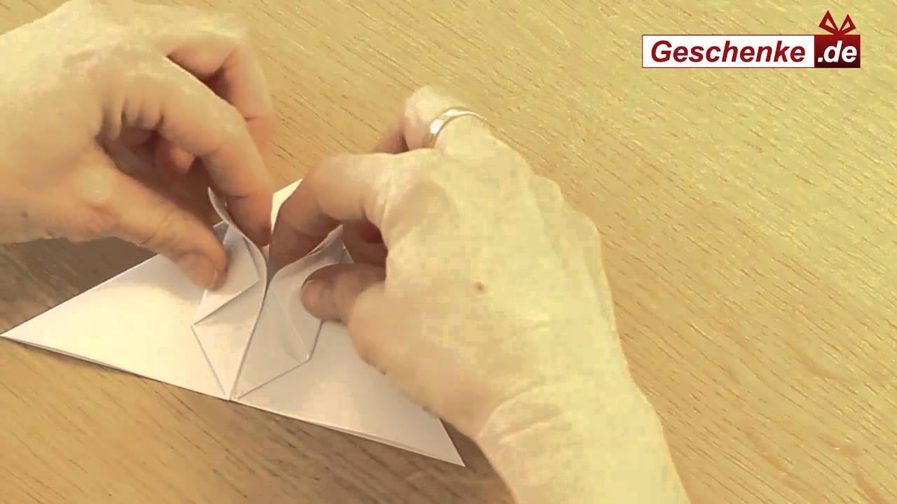 hase basteln papier falten origami hase diy youtube. Black Bedroom Furniture Sets. Home Design Ideas