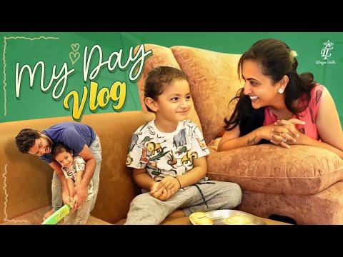 Lasya shares day vlog of shopping