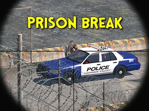 PRISON BREAK! - Arma 3: Life - Ep.4
