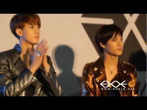120602 EXO-K in Genie AR show FANCAM CL:EXO-E