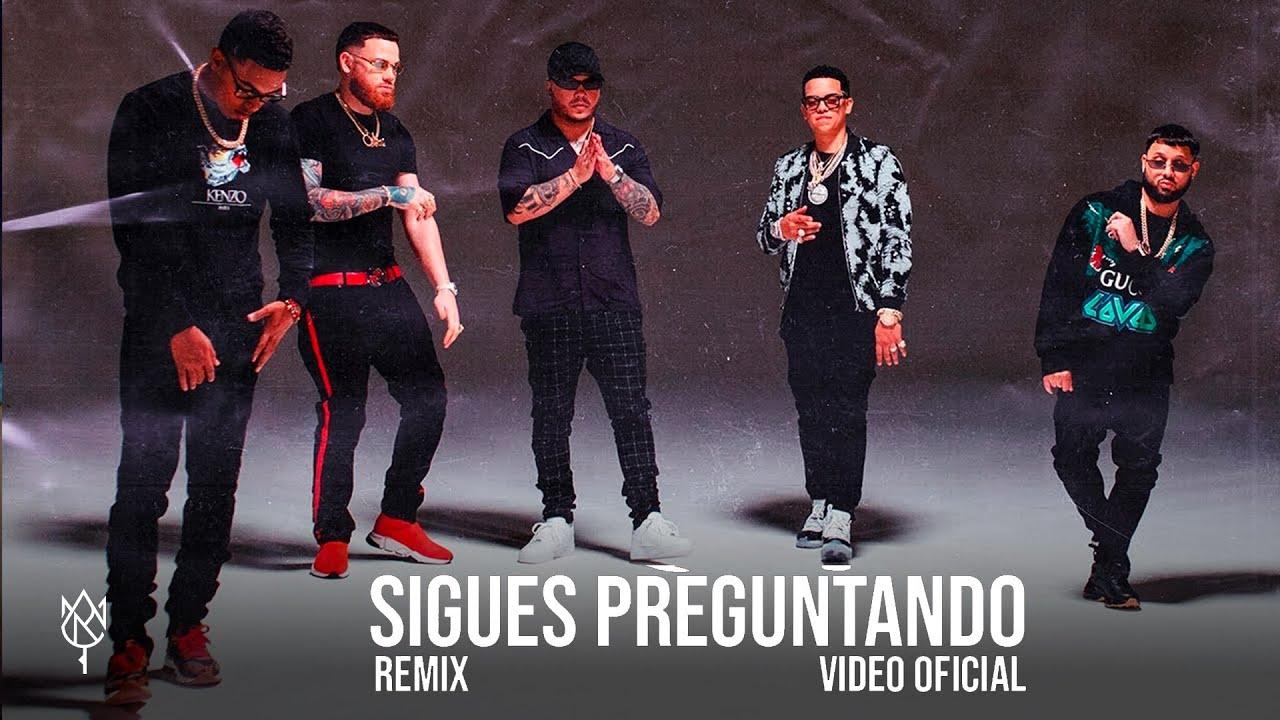 Alex Rose - Sigues Preguntando (Remix) ft. Myke Towers, Miky Woodz, J Alvarez & Jory [Video Oficial]