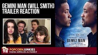 Gemini Man (Will Smith) TRAILER - Nadia Sawalha & The Popcorn Junkies Family Reaction