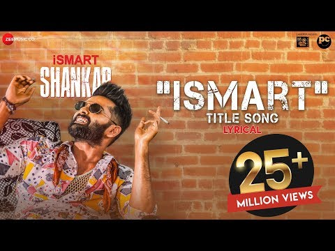 Ismart Title Song - Lyrical | Ismart Shankar