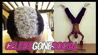 Nick Cannon's Skunk Hair -- Celebs Gone Social for April 9, 2014
