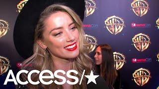 'Aquaman': Amber Heard On The 'Strong, Motivated' Mera & Working With Jason Momoa | Access