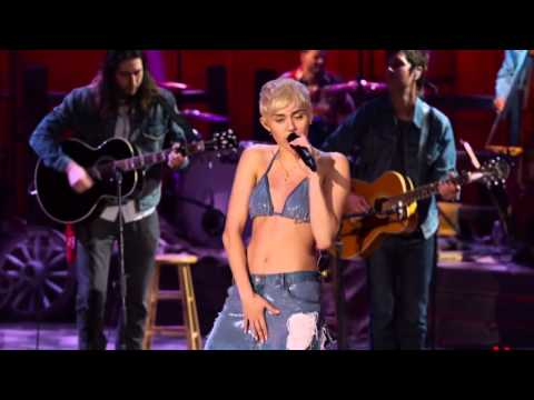 Miley Cyrus - Why'd You Only Call Me When You're High? (MTV Unplugged) HD