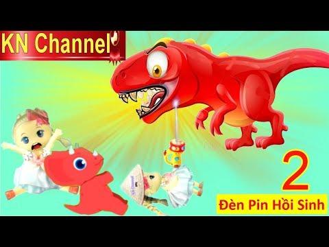 BÚP BÊ KN Channel & ĐÈN PIN HỒI SINH KHỦNG LONG Tập 2 TRỨNG KHỦNG LONG KHỔNG LỒ