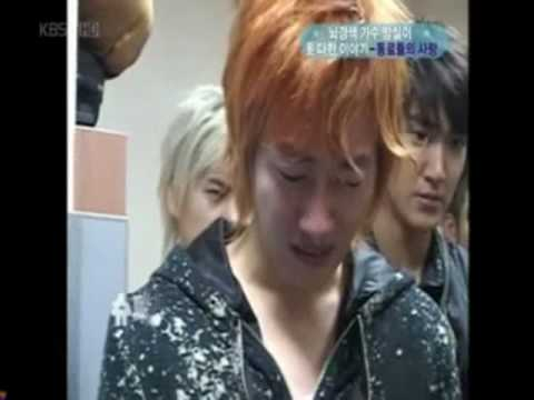 Super Junior ~Crying Tears & Hardest Moments ~