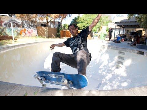 Video Z-FLEX Skate mini cruiser Complete SHADOW LURKER POOL 9.5 Black