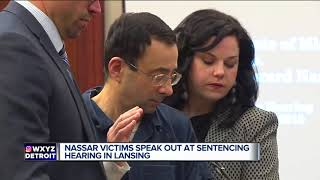 Coach tells Larry Nassar to 'go to hell' as victims speak out at sentencing