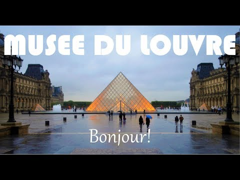 The Louvre Museum - 4k video by Jessilo Olis