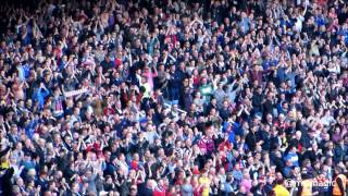 Crystal Palace Away Support 19 April 2014 at West Ham - CPFC