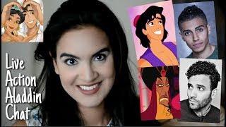 Mena Massoud as Aladdin? Jafar hotter than Aladdin? Will Smith is Genie?!