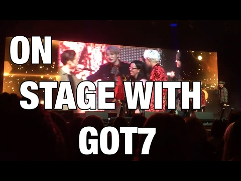 I WAS ON STAGE WITH GOT7?!?! | STORYTIME