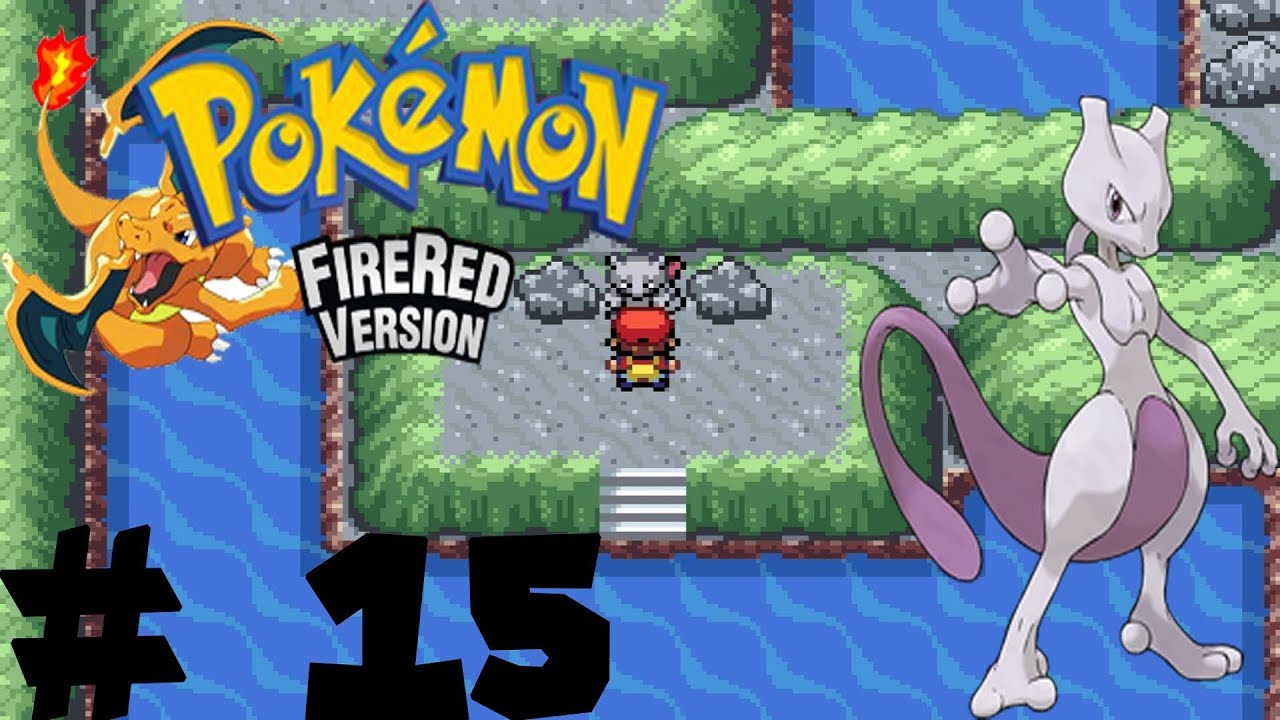 How to catch mewtwo in fire red
