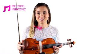 VIOLIN TIPS FOR MUMS & KIDS - 14 - HOW TO PLAY/READ WITH THE FIRST FINGER/INDEX ON E STRING?