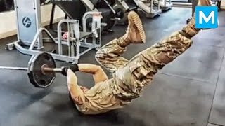 Strongest Soldier in the World - Diamond Ott   Muscle Madness