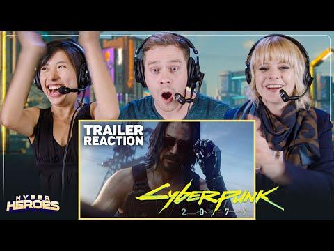 Cyberpunk 2077 - Official Trailer E3 2019 (Keanu Reeves)