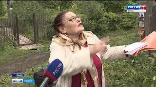 Дачники одного из садоводческих товариществ жалуются на свалку